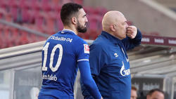 Bentaleb (l.) lästerte angeblich über den FC Schalke 04, Gross wurde für sein Training kritisiert