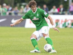 Mateo Pavlovic im Trikot von Werder Bremen