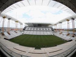 Die WM-Baustelle in São Paulo