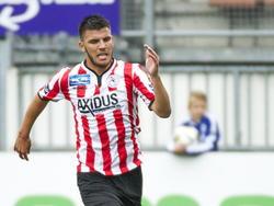 Sparta speler Aleksandar Bjelica in de wedstrijd tegen Den Bosch in de Jupiler League. (10-08-14)
