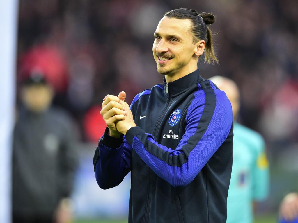 Ibrahimović gewann mit Paris insgesamt vier Meistertitel