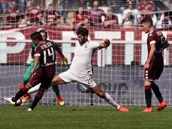 El español, cedido al Torino por la Roma, hizo mucho daño a su club. (Foto: Getty)