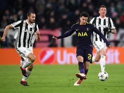 CL-Duell zwischen Juve und Tottenham