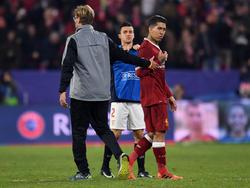 Erfolgsduo beim FC Liverpool: Jürgen Klopp und Roberto Firmino