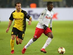 Diadié Samassékou gegen Mario Götze
