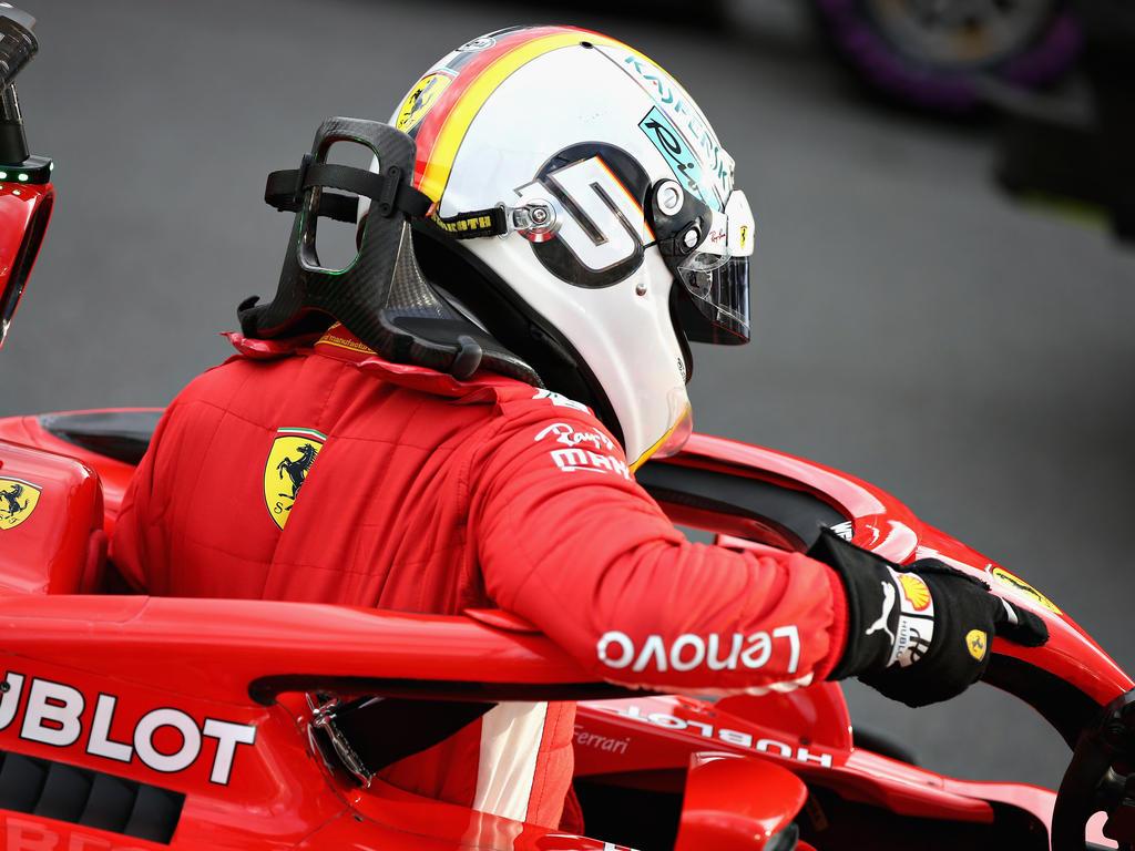 Sebastian Vettel greift in Melbourne an
