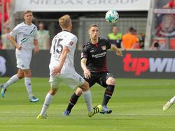 Bayer Leverkusen setzte sich gegen Hannover 96 durch