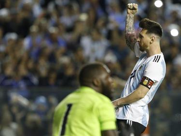 Lionel Messi traf dreifach