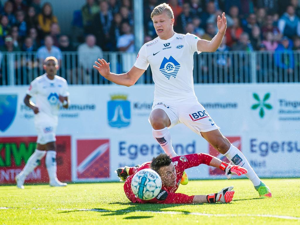 Erling Håland gilt als großes Talent in Norwegen