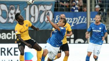 Dresden holt drei Punkte beim VfL Bochum