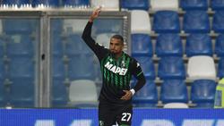 Kevin-Prince Boateng spielt jetzt für Sassuolo Calcio in der Serie A