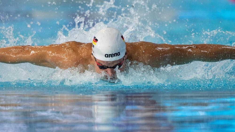 Marius Kusch verpasste die Bronzemedaille nur ganz knapp
