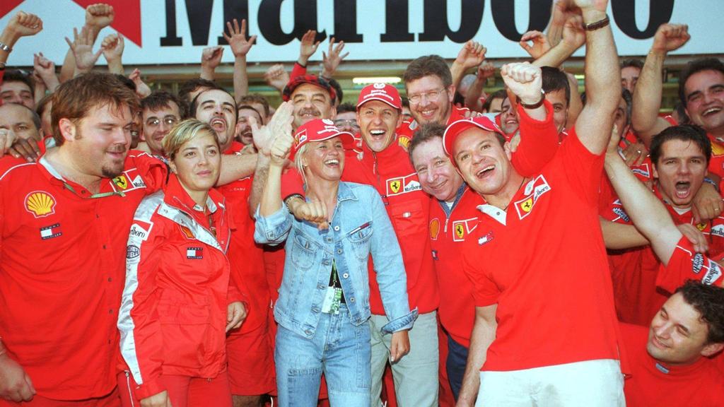 Emotional wie nie: 2000 war für Ferrari der wohl wichtigste Titelgewinn