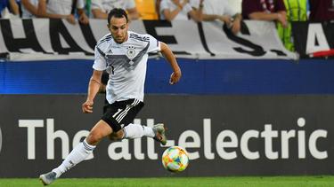 Levin Öztunali will mit dem DFB-Team weitere Erfolge feiern