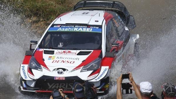 Ott Tänak dominerte den Samstag bei der Rallye Italien