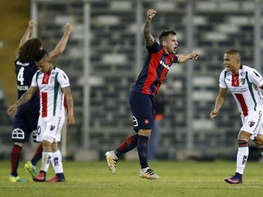 San Lorenzo y Palestino se midieron en octubre por la Sudamericana. (Foto: Imago)