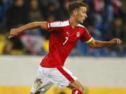 Dominik Wydra, hier im Dienste der ÖFB-U21