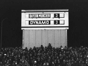 Bayern kämpfte sich einst gegen Dresden weiter