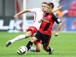 Abrashi verletzte sich gegen Leverkusen am Sprunggelenk
