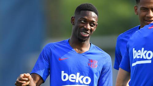 Ousmane Dembélé steht angeblich bei Manchester City auf dem Zettel