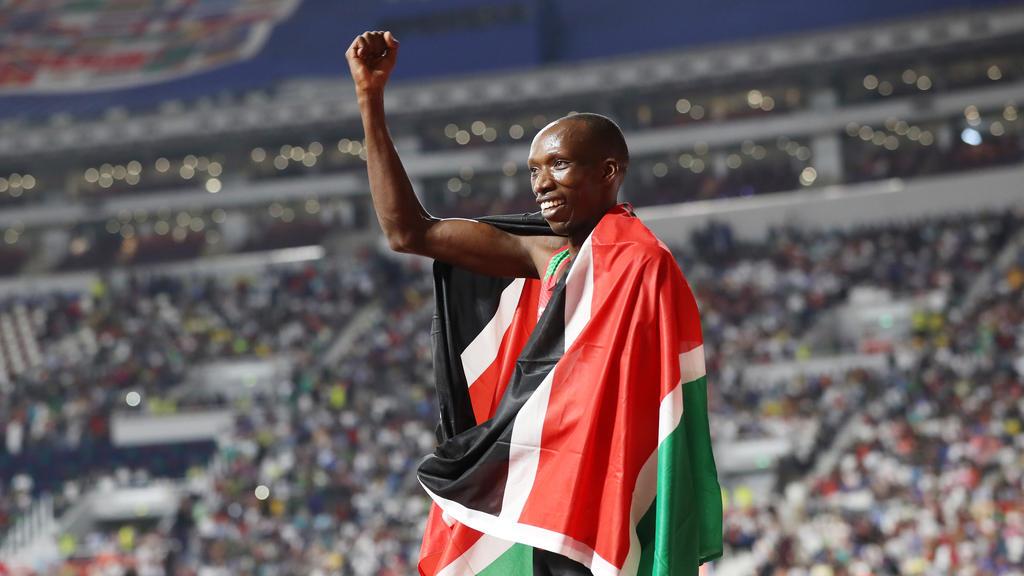 Der Kenianer Cheruiyot holte überlegen Gold