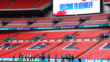 In Wembley trifft England auf Deutschland