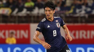Genki Haraguchi traf für Japan