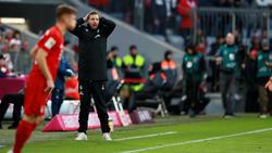 Werder-Coach Florian Kohfeldt hat beim FC Bayern eine Klatsche kassiert