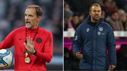 Bald womöglich die Doppelspitze beim FC Bayern: Thomas Tuchel (l.) und Hansi Flick