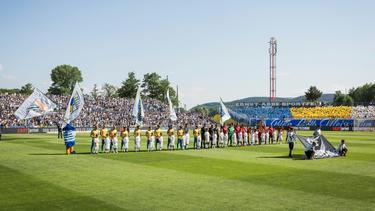 Carl Zeiss Jena: Das Ernst-Abbe-Sportfeld wird umgebaut