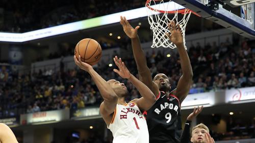 Erfolgsserie der Toronto Raptors in der NBA gerissenb