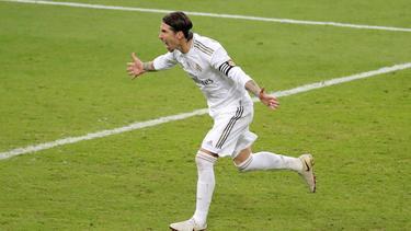 Sergio Ramos erzielte den Siegtreffer für Real Madrid