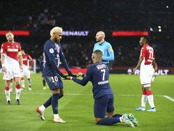 Die PSG-Stars Neymar und Kylian Mbappé könnten bei Olympia gegeneinander antreten