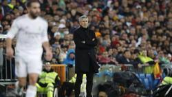 Setién no sacó nada positivo del Bernabéu.