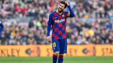 Lionel Messi gastiert mit dem FC Barcelona in Neapel