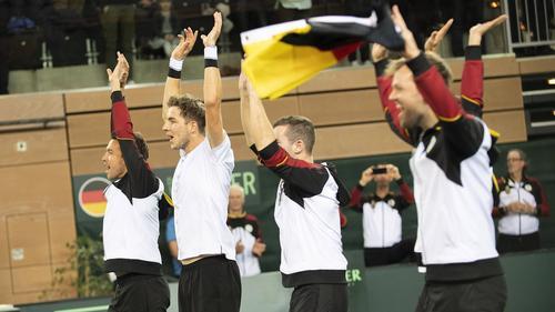 Die Gegner der deutschen Davis-Cup-Mannschaft stehen fest