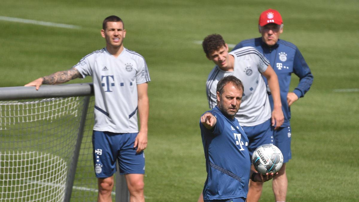 Weltmeister in Diensten des FC Bayern: Lucas Hernández und Benjamin Pavard