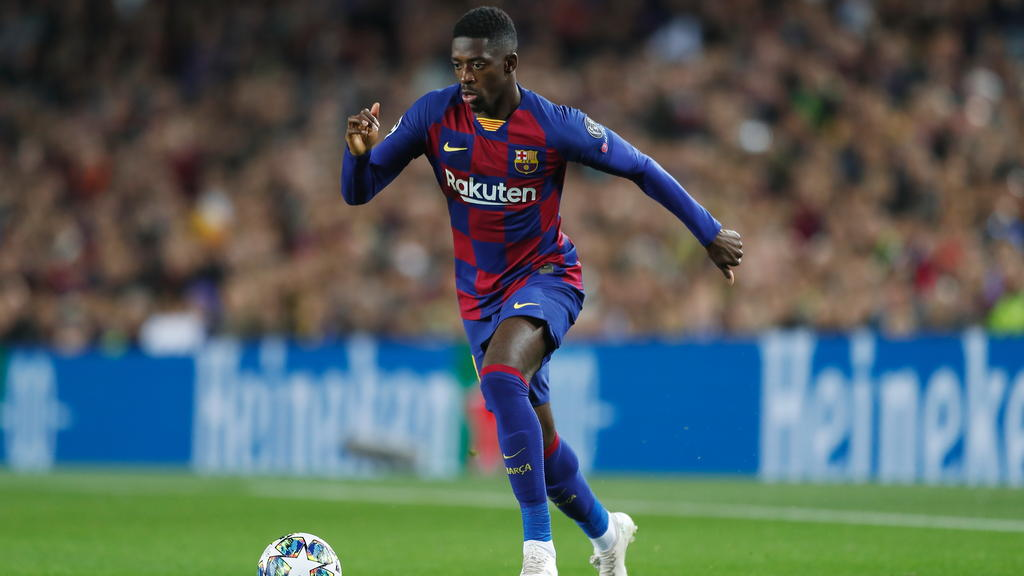 Ousmane Dembélé hat in 2020 noch kein Spiel für Barca bestritten