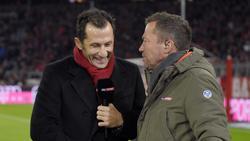 Lothar Matthäus (r.) schwärmt von den Leistungen des FC Bayern München