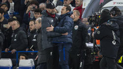 Jürgen Klopp dementierte eine angebliche Rivalität mit Chelsea-Coach Frank Lampard