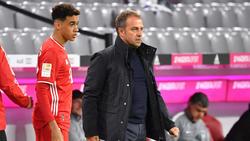 Hält große Stücke auf Super-Talent Jamal Musiala: Bayern-Coach Hansi Flick