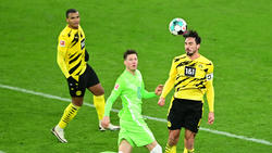 Bilden die Innenverteidigung beim BVB: Manuel Akanji (l.) und Mats Hummels (r.)