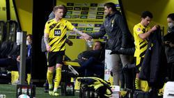 Laut Sebastian Kehl (m.) steht MarcoReus (l.) dem BVB wieder zur Verfügung