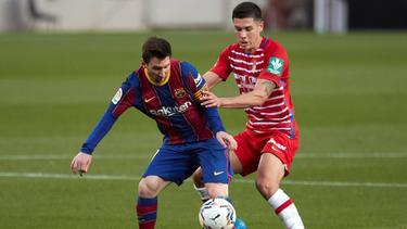 Der FC Barcelona verlor gegen Granada CF