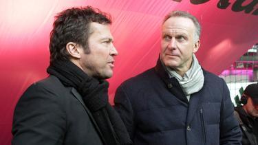 Matthäus schlägt Bayern-Boss Rummenigge (re.) als DFB-Präsident vor