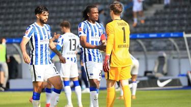 OmarAlderete (l.) wird Hertha BSC wohl verlassen