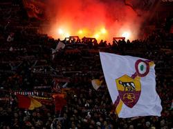 Die Fans der Roma