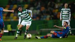 Costa Ricas Nationalspieler Bryan Ruíz (l.) verlässt den portugiesischen Verein Sporting CP