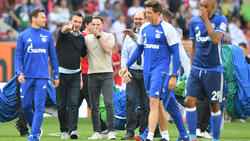 Christian Heidel stärkt Schalke-Trainer Domenico Tedesco