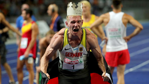 Arthur Abele hat sich den Europameistertitel 2018 gesichert
